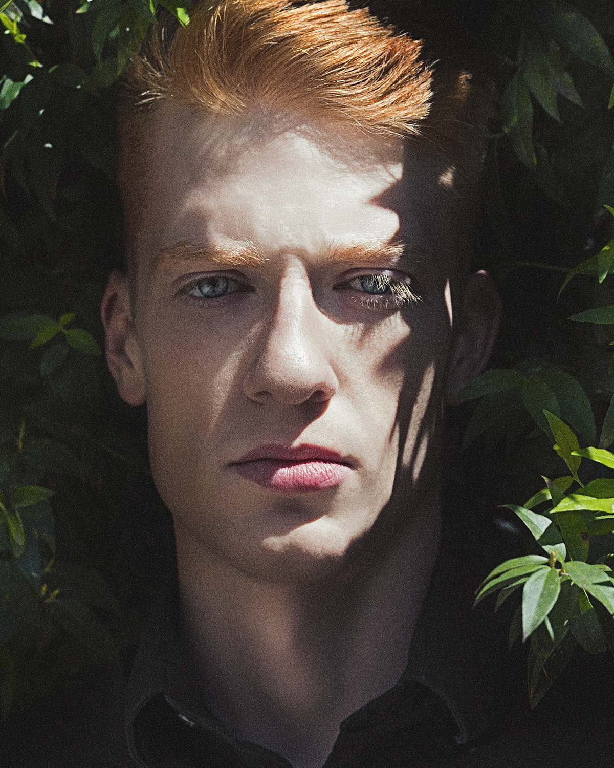 lauren nakao winn, photography, fashion, portrait, redhead, aja blue, vogue, male model, male beauty, male portrait