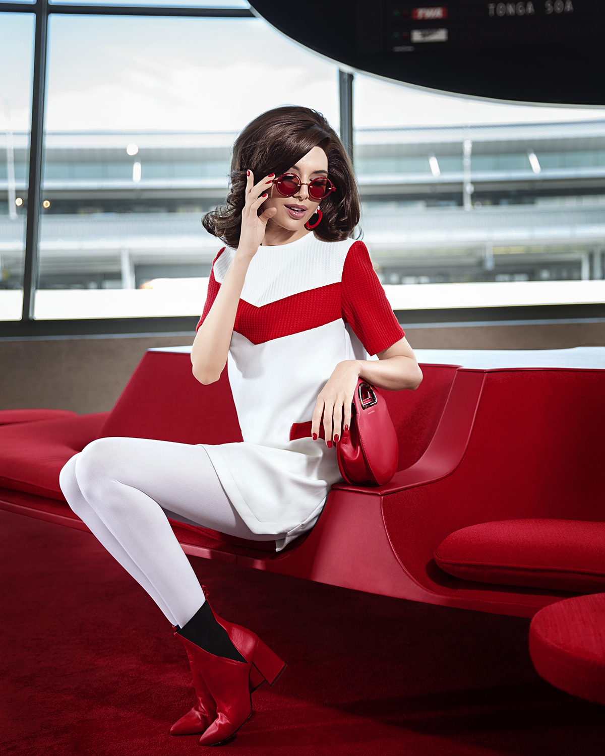 lauren nakao winn, photography, editorial photography, fashion, 60s, twa, twa hotel, trans world airlines, gogo, jackie o, jackie kennedy, the first lady, space race, jet age, star trek, 1963, 1962, 60s photoshoot, mad men, megan draper, megan calvet, jessica pare